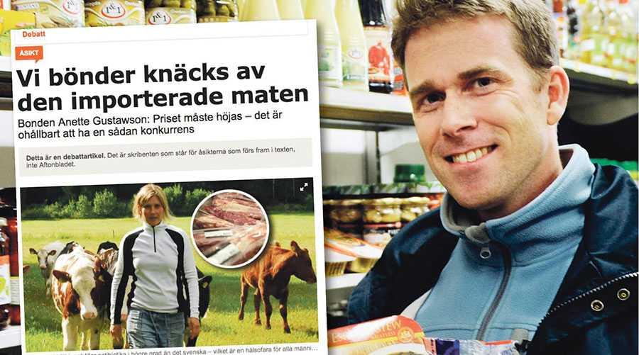 Den svenska djurindustrin nyttar 80 procent av skörden till djurfoder och därigenom bidrar den inte ett dyft till den biologiska mångfalden, skriver Jonas Paulsson.