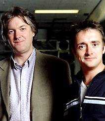 James May lämnar Top Gear, här tillsammans med kollegan Richard Hammond.