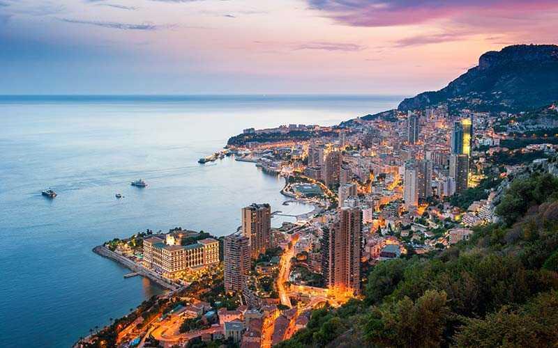Med sitt snittpris på 2 221 kronor för en hotellnatt var Monte Carlo dyrast i Europa i februari