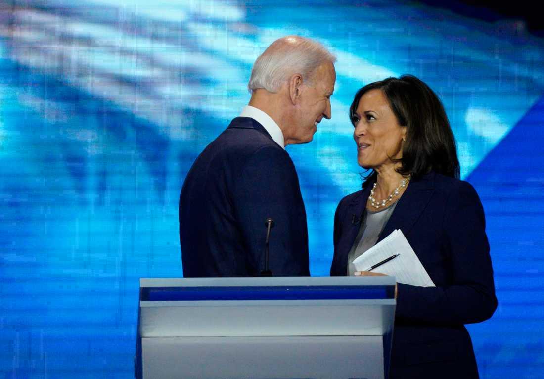 Joe Biden och Kamala Harris. (Arkivbild)