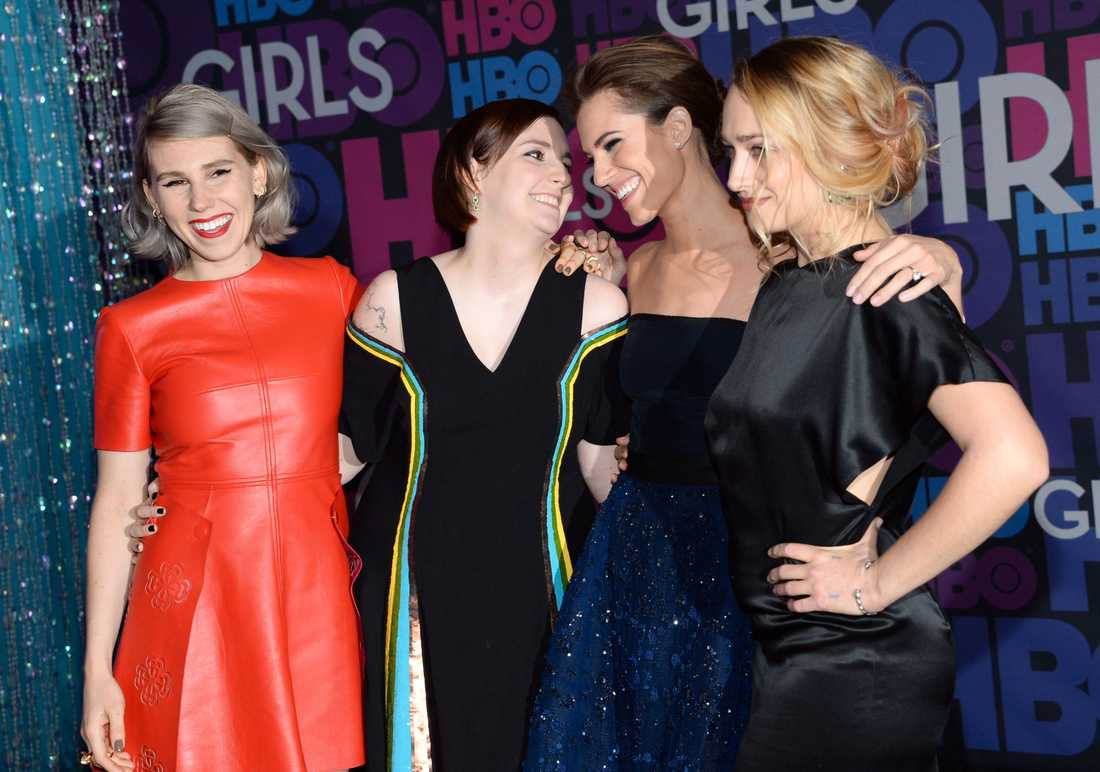 """Girls""-gänget."