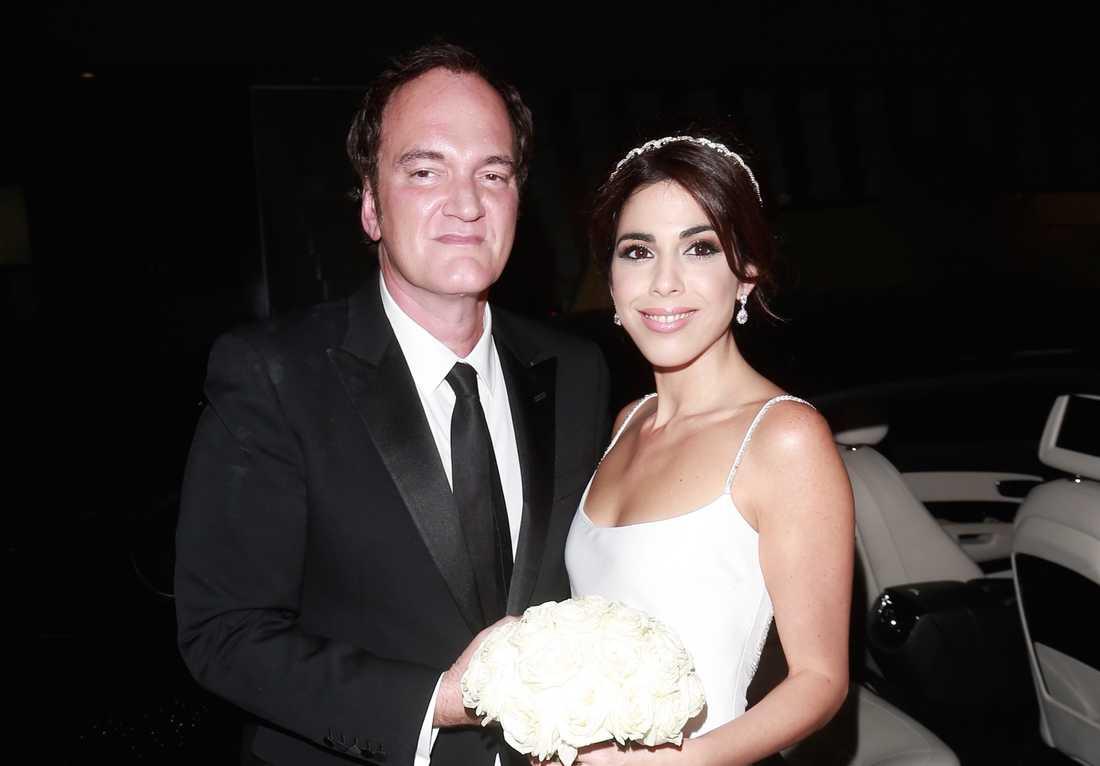 Quentin Tarantino och Daniella Pick har fått barn.