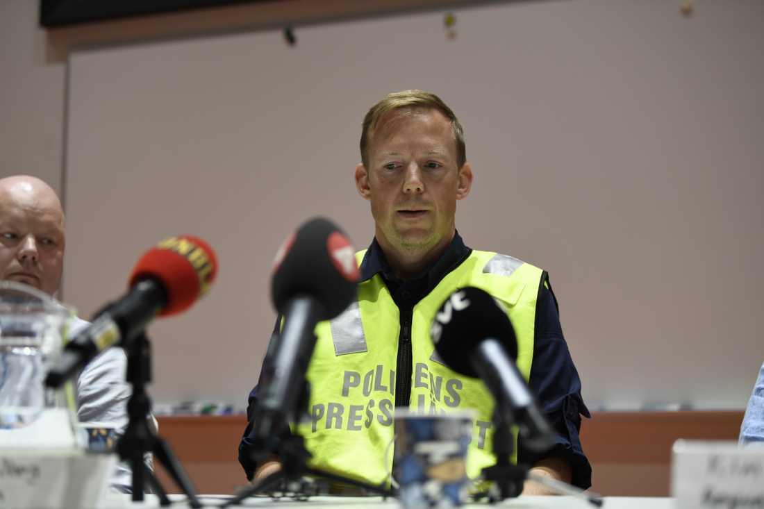 Björn Öberg, Polisen