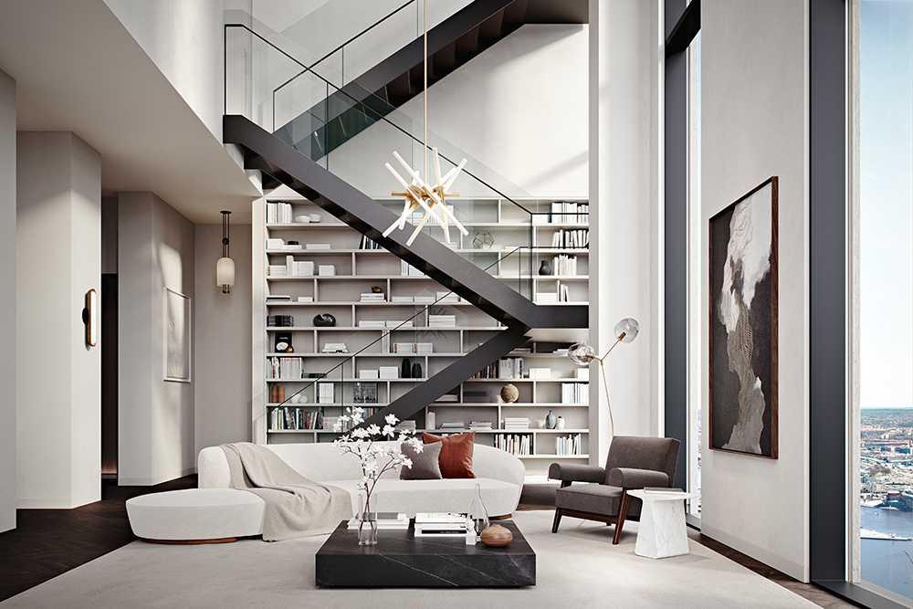 Så har kan lägenheten se ut invändigt (skiss).