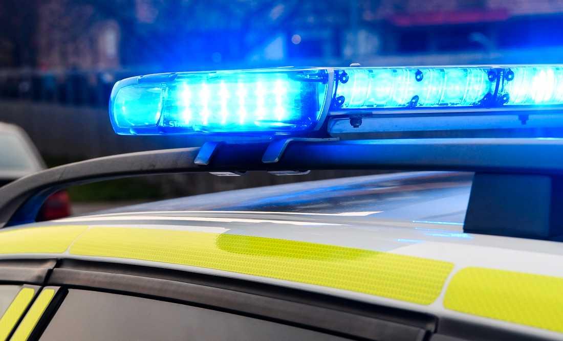 Polis avlossade varningsskott i samband med att en misstänkt rånare greps i Värnamo. Arkivbild.