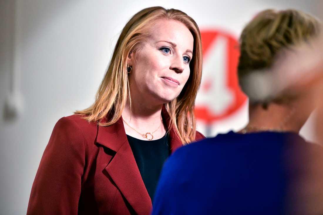 Annie Lööf (C).