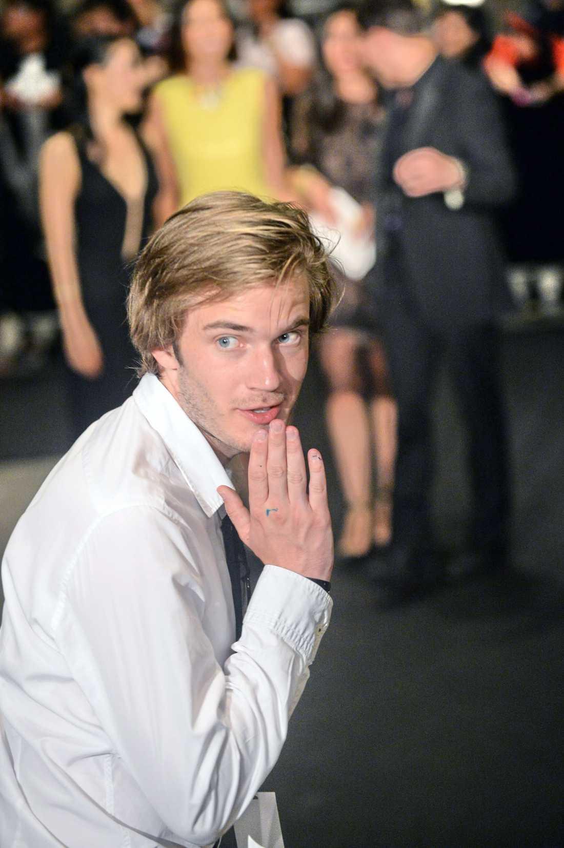 """Svenske Youtube-stjärnan Felix """"Pewdiepie"""" Kjellberg har över 32 miljoner prenumeranter och omsätter tiotals miljoner kronor på ett år."""