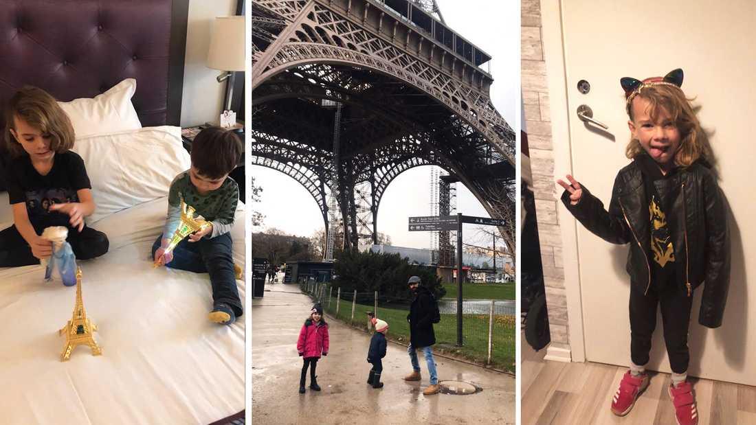 Hela familjen fick följa med på Alfies stora dag som innebar en efterlängtad resa till Paris.