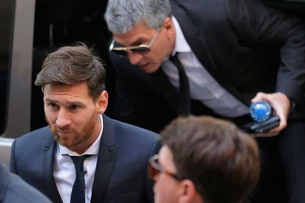 Messi har dömts för skattebrott