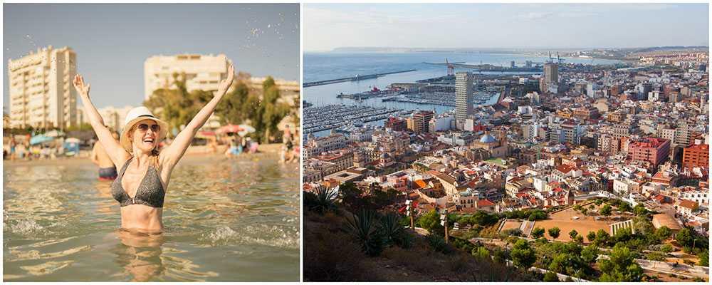 Alicante i Spanien är superpopulärt bland svenskar i sommar.