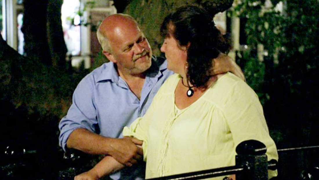 Mikael Carlsson och Catharina Friberg fann varandra i programmet.