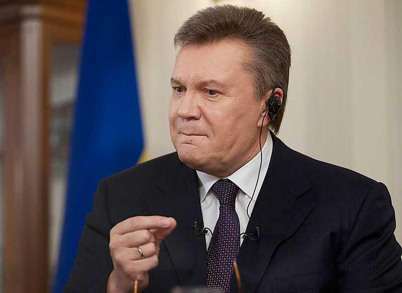 Janukovytj avsattes 2014. Innan dess hann han under flera år sockra diplomaters och
