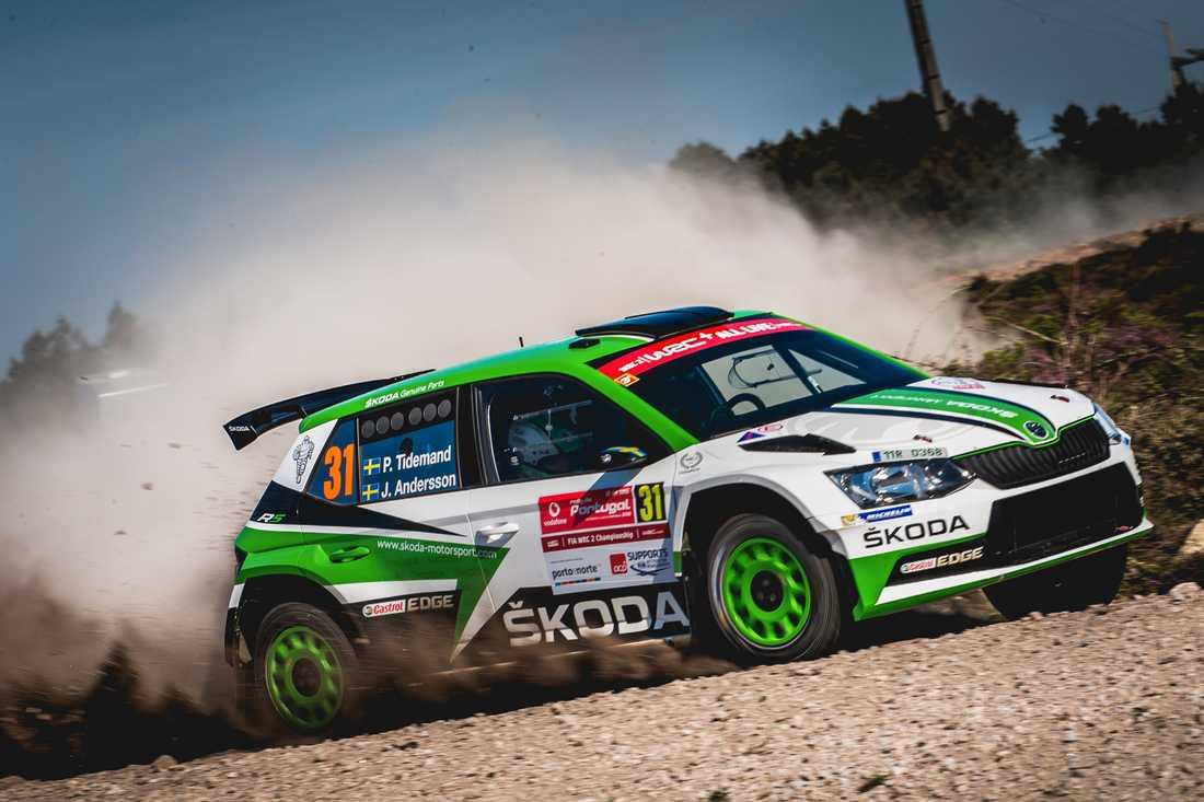 Pontus Tidemand vann Portugals VM-rally 2018
