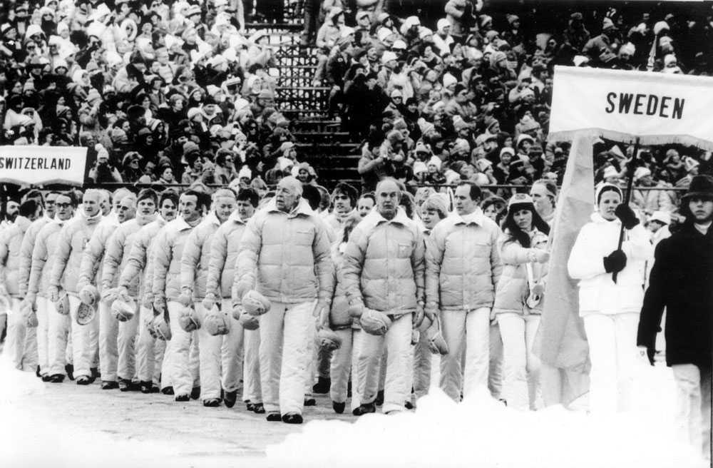 1980 i Lake Placid: Eva Olsson, skidåkning.