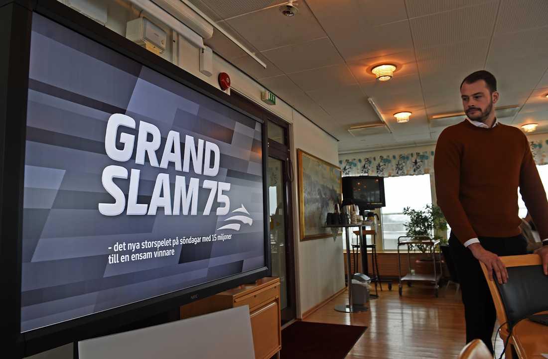 Man är garanterad 15 miljoner kronor om man blir ensam med alla rätt på Grand Slam