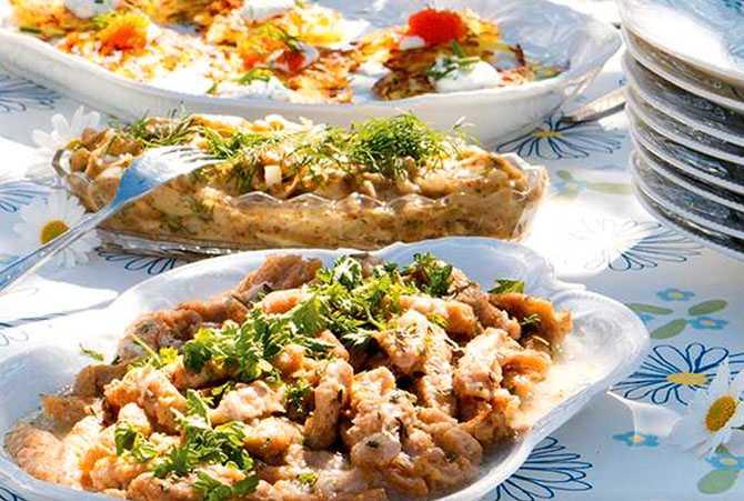 God rätt som du kan förbereda dagen innan – marinerat vegokött.