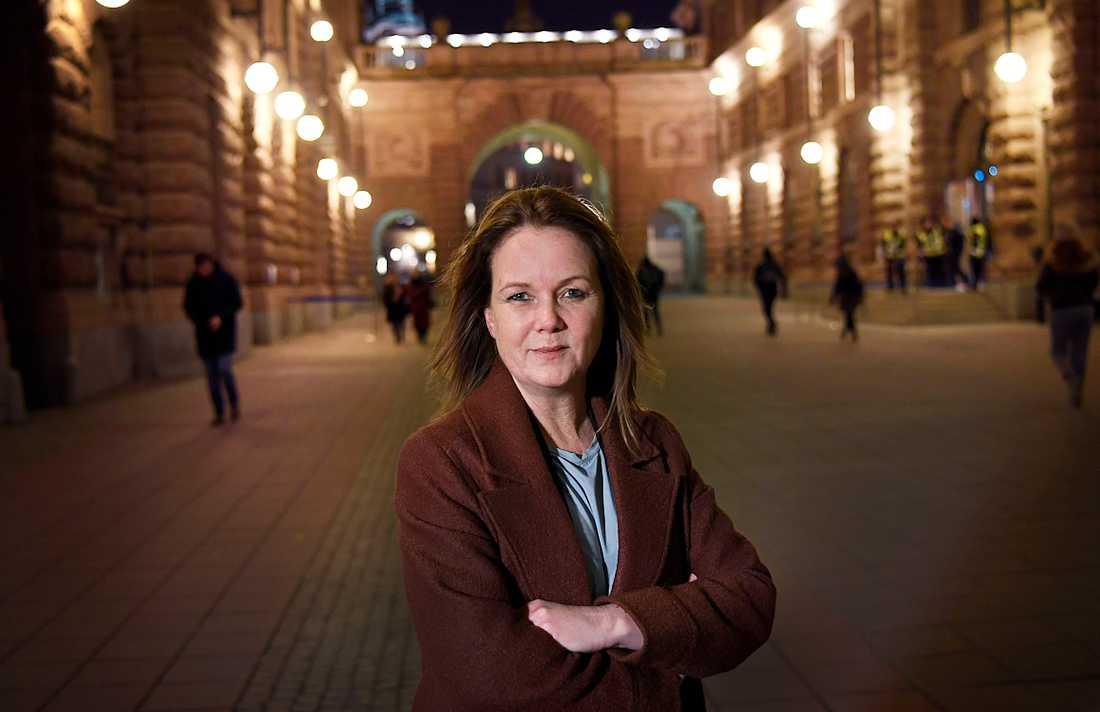 Jennie Nilsson (S), landsbygdsminister