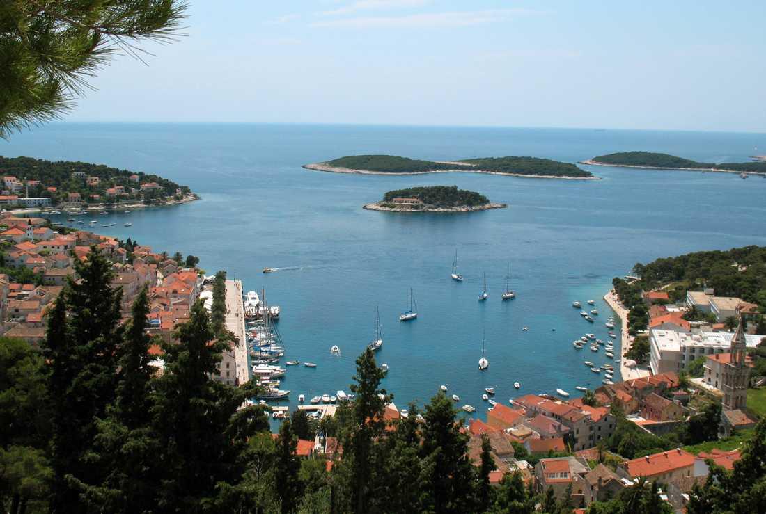 Hvar, Kroatien.