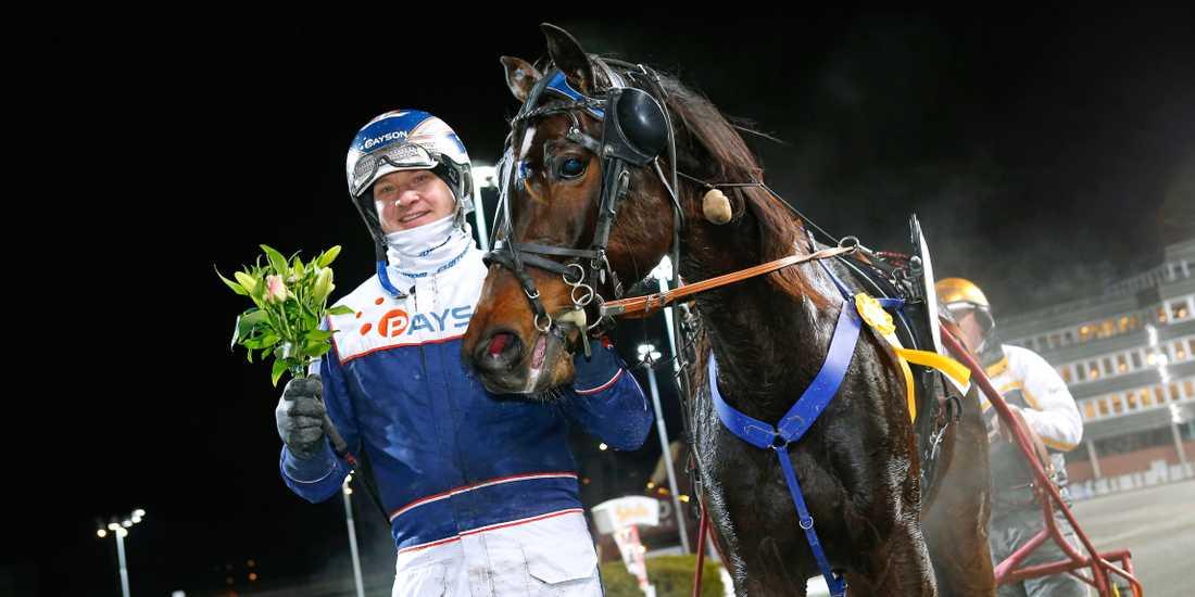 Lil Belinda och skrällkusken Kenneth Haugstad vann V86-2.