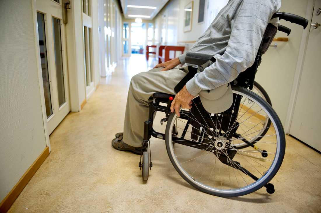 Antalet äldre och funktionsnedsatta som inte fått ta del av sina beviljade omsorgsinsatser har ökat stort. Arkivbild.
