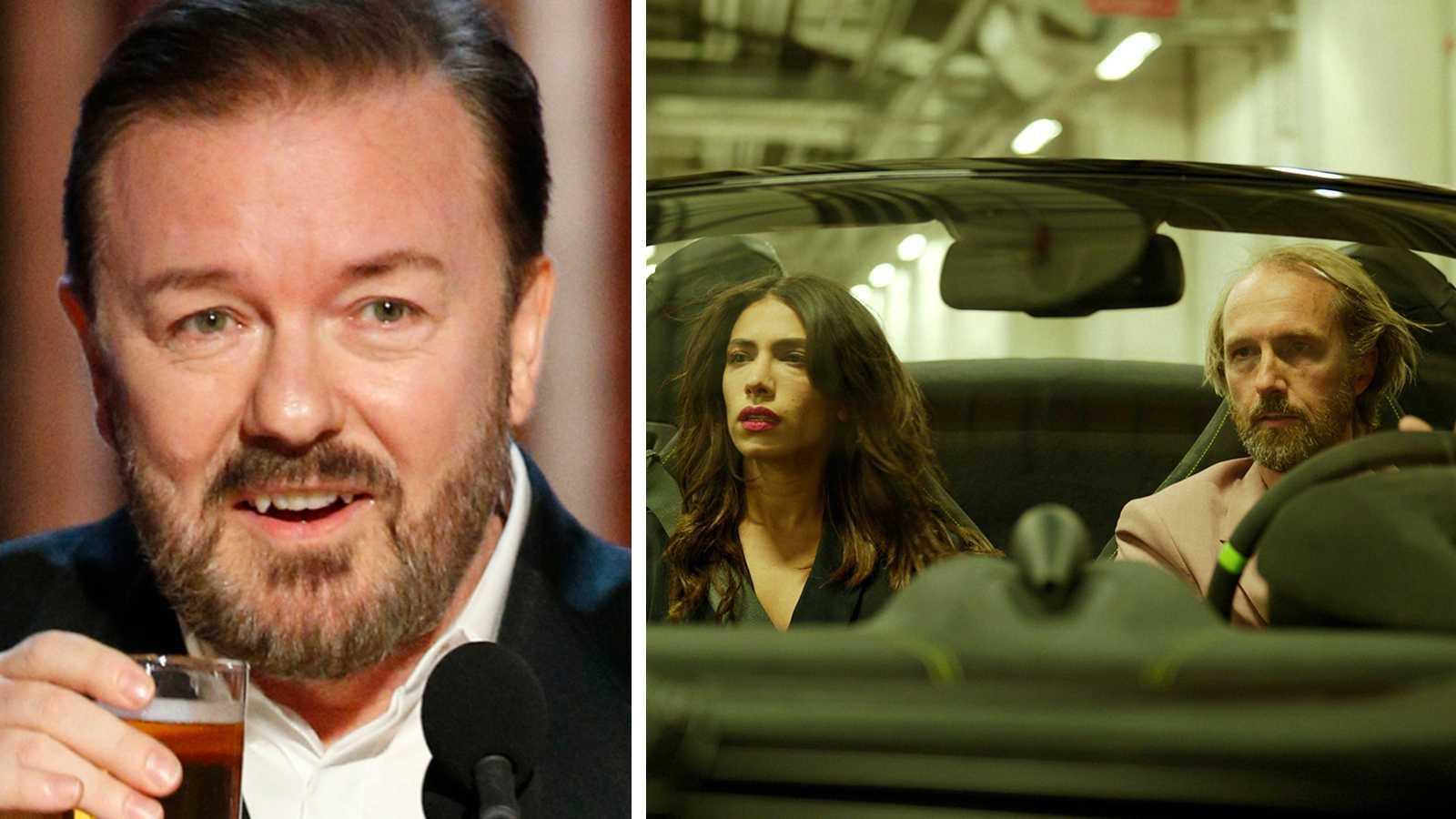 """Ricky Gervais hyllar svenska """"Snabba cash"""""""