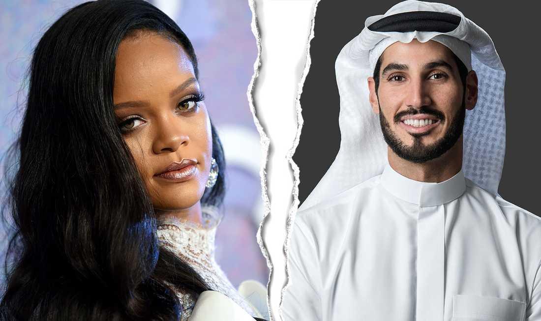 Rihanna ville skaffa barn –men nu bryter paret upp.