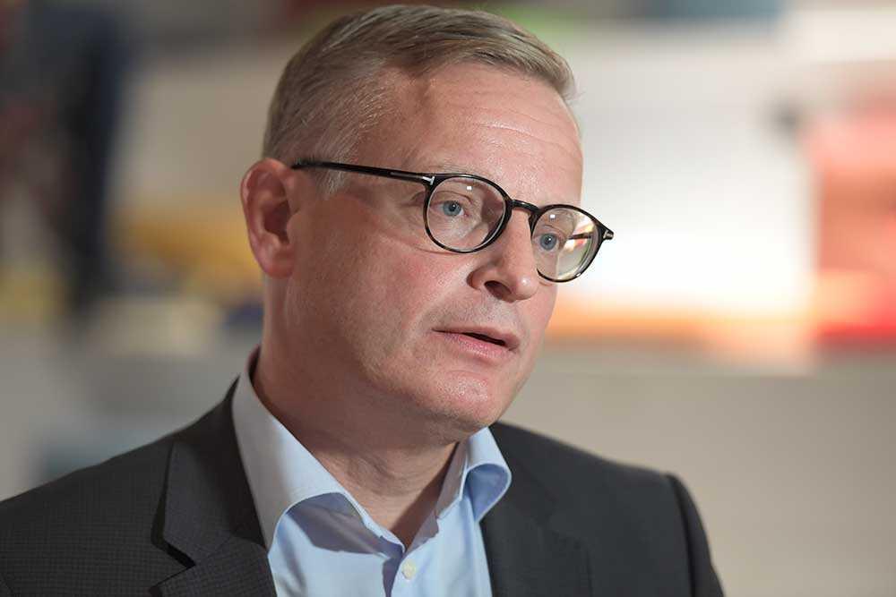 Jan Frykhammar, tf vd för Ericsson.