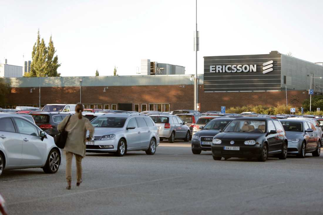 Ericssons fabrik i Borås.