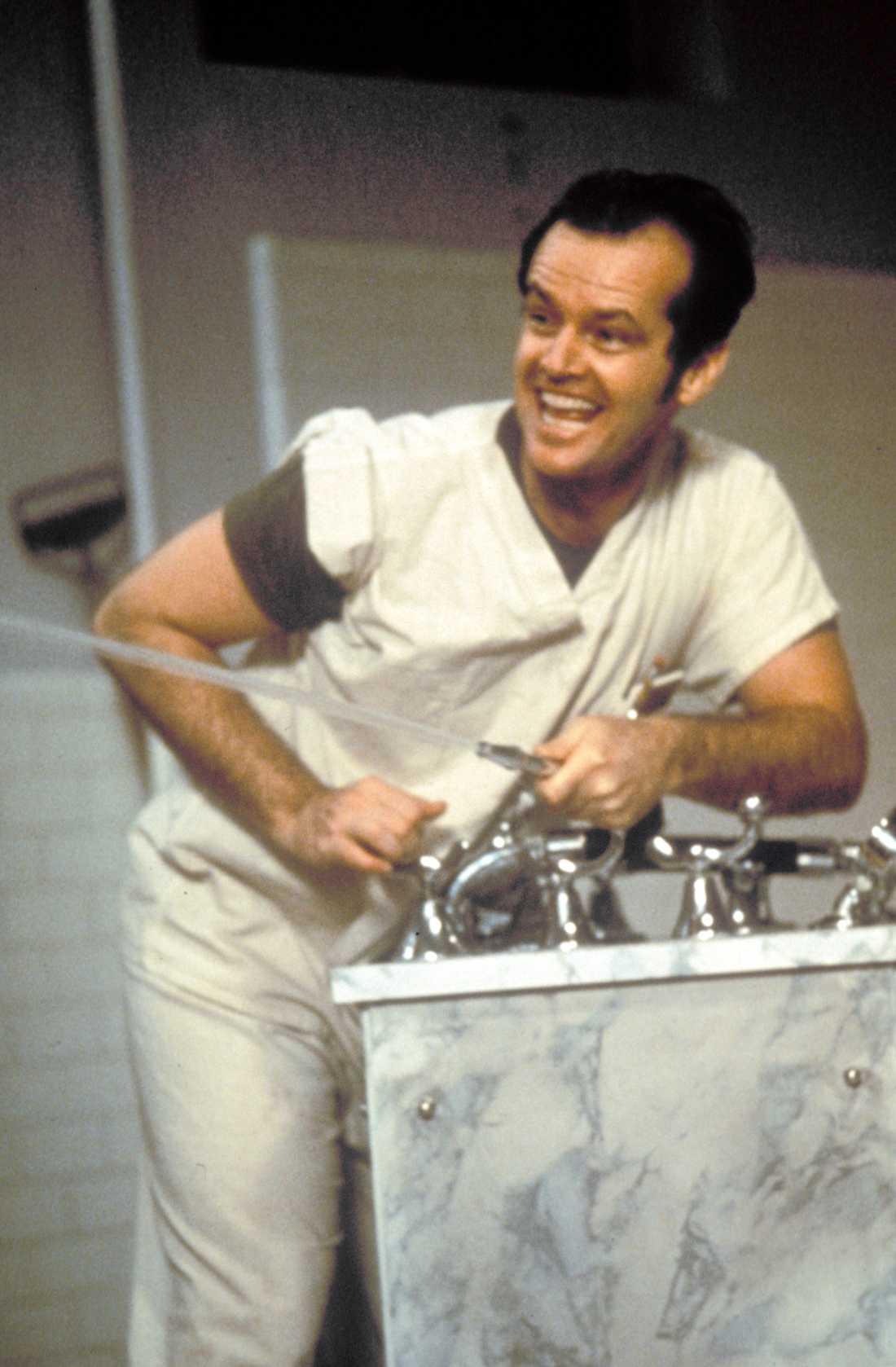 "Jack Nicholson ur ""Gökboet""."