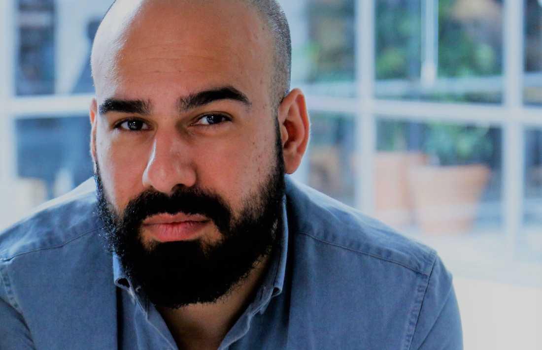 Omid Rahmanian, jobbsökarexpert på Arbetsförmedlingen.
