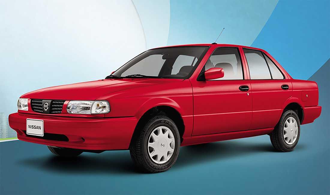Så här ser en Nissan Tsuru ut odeformerad.