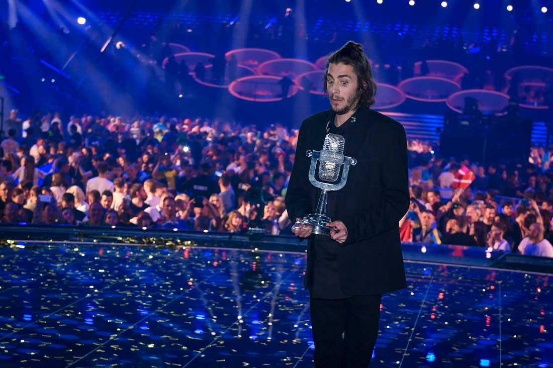 Portugal vann Eurovision 2017.