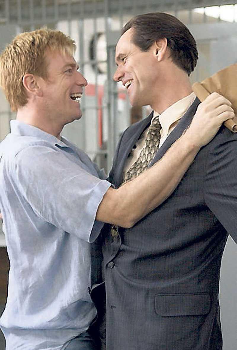 McGregors och Carreys homosexualitet är en lustig höhö-detalj. Foto: SCANBOX
