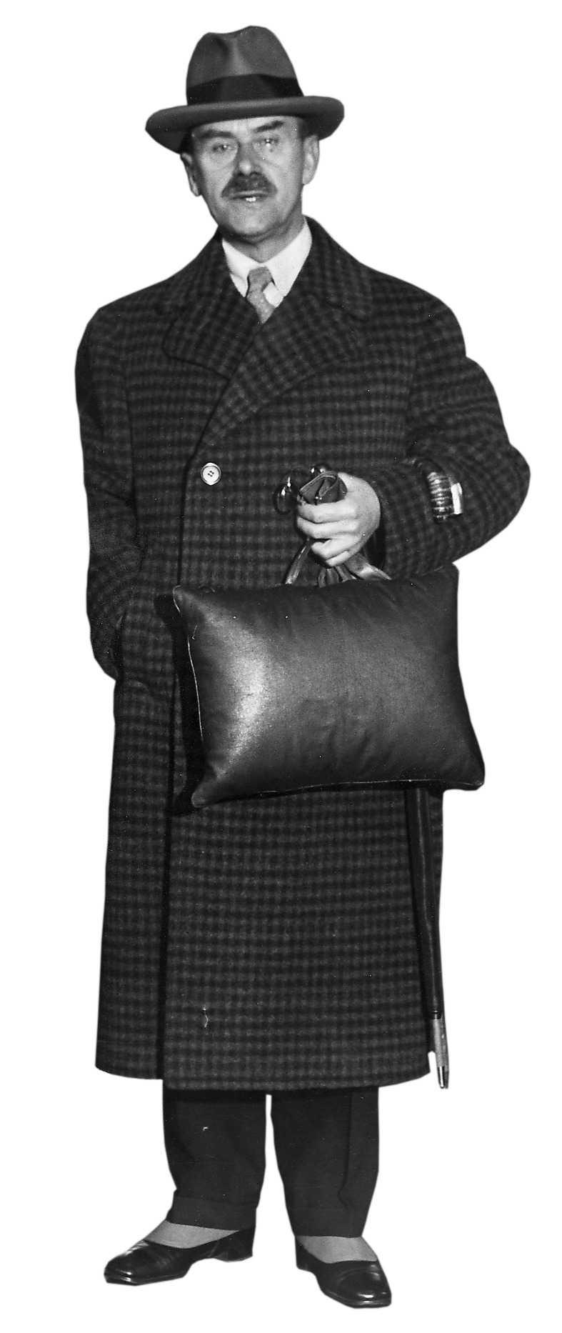 Thomas Mann (1875–1955).