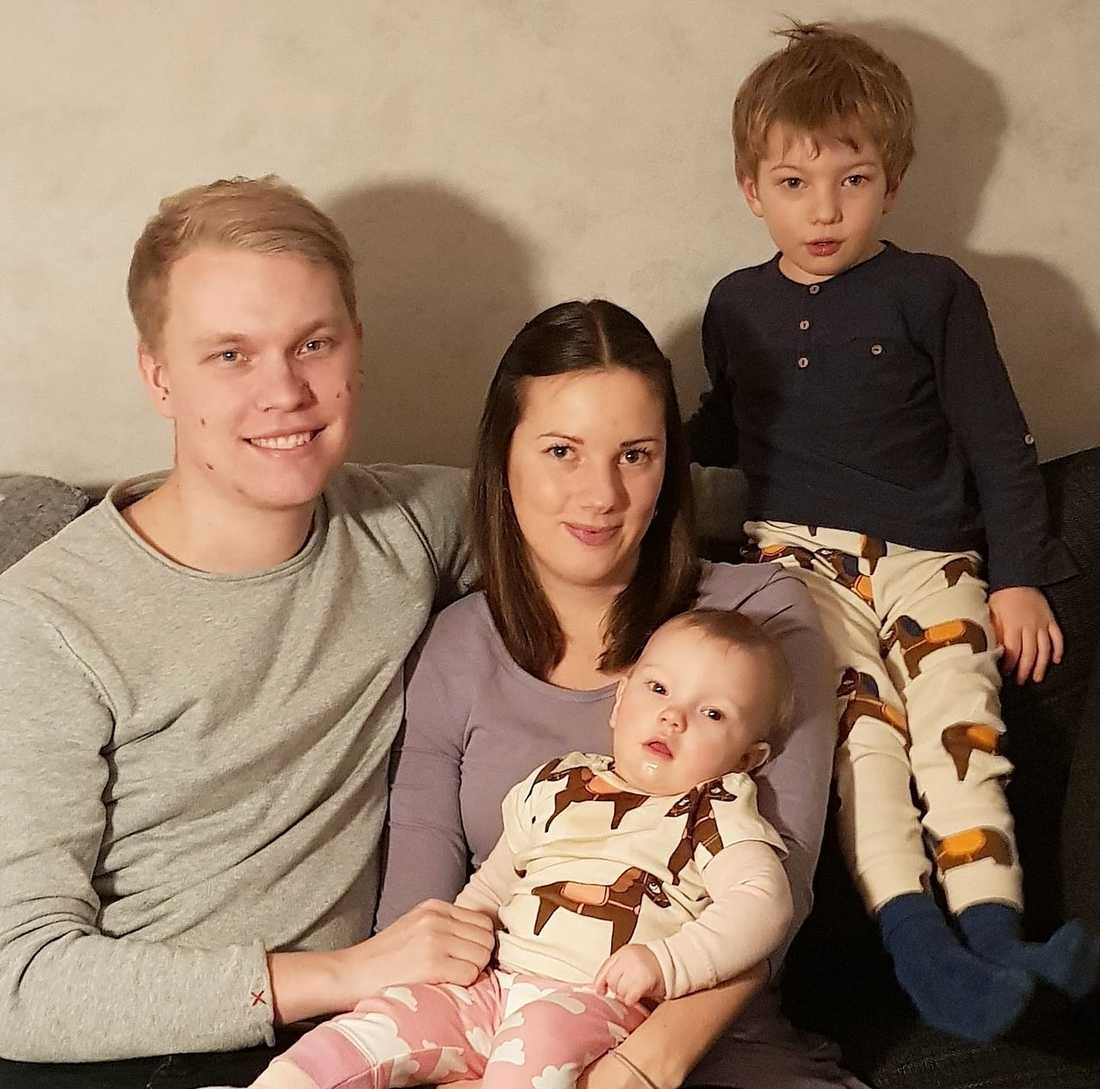 Familjen Sällberg.