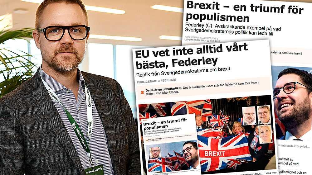 Om vi ger mer makt till den sverigefientliga politik som Sverigedemokraterna och deras vänner driver kommer vi bli förlorare. Låt oss istället, genom centerpartistisk politik, samarbeta och vinna, skriver Fredrick Federley (C).