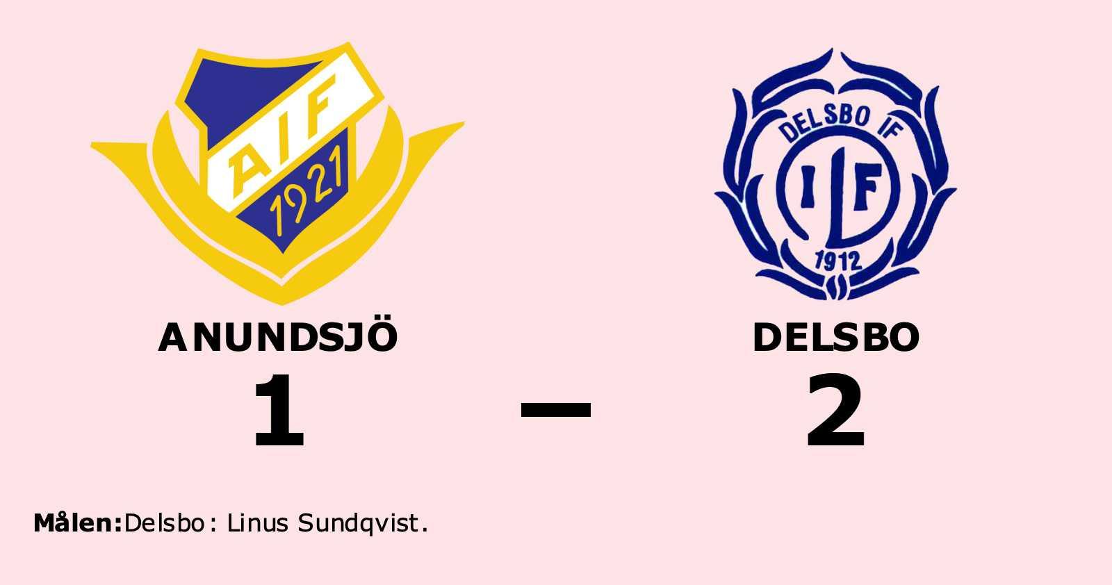 Seger för Delsbo mot Anundsjö i spännande match