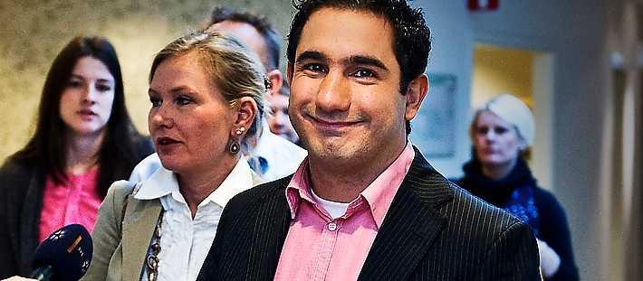 Kommissionens två ordföranden Anna Johansson och Ardalan Shekarabi.