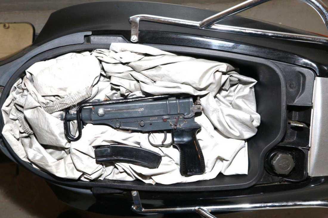Vapnet som användes vid skjutningen.