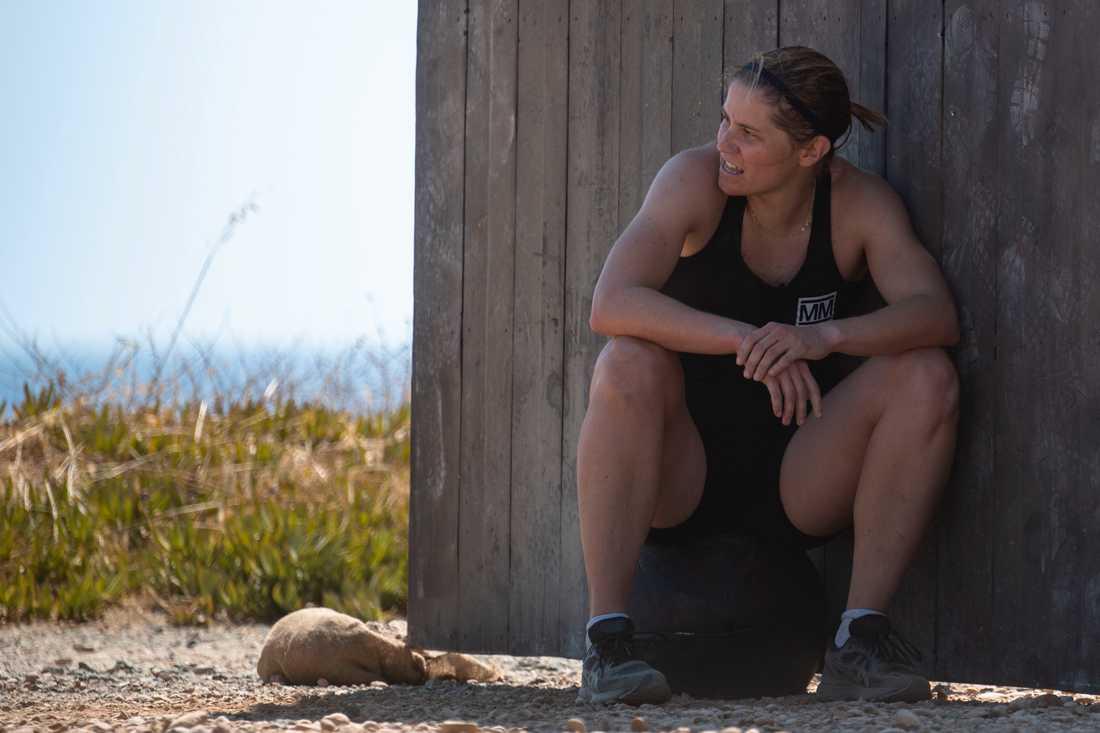 """Vill tillbaka till skolbänken. Ida Ingemarsdotter vill avsluta sina studier. Men först ska hon tävla i """"Mästarnas mästare"""" 2020."""