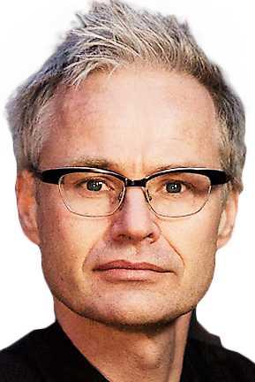 Gabriel Byström, journalist och författare.