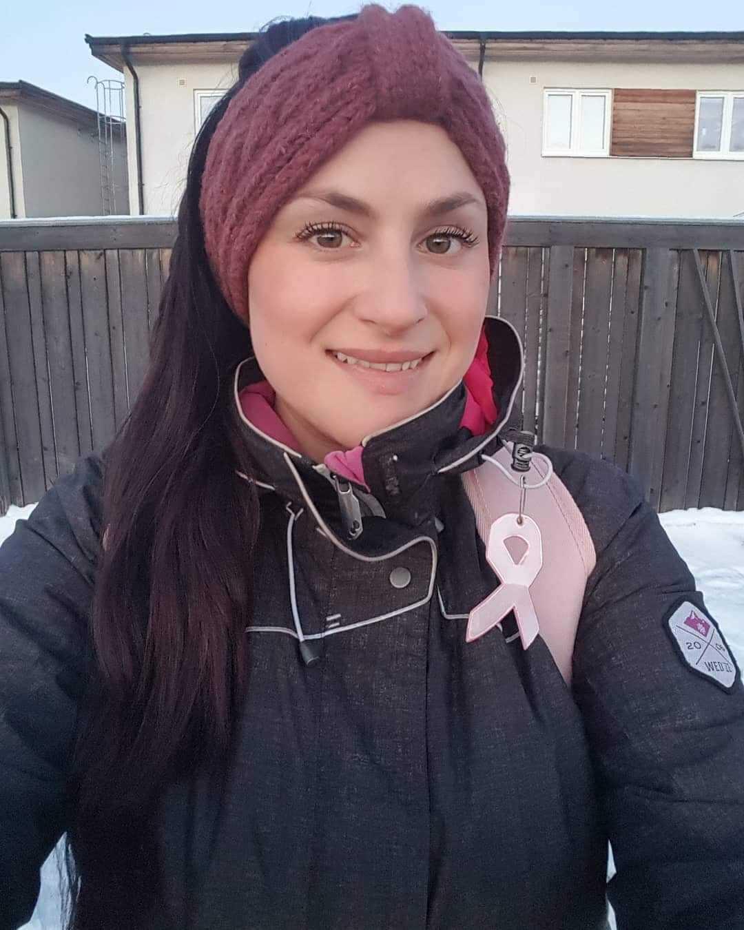 Natalie Snell Redon är vice ordförande i Team Sweden volunteers.