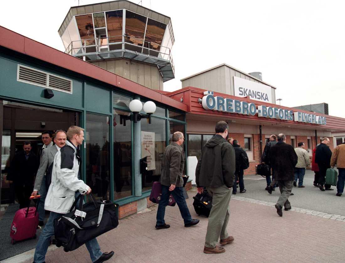 Arkivbild Örebro flygplats.