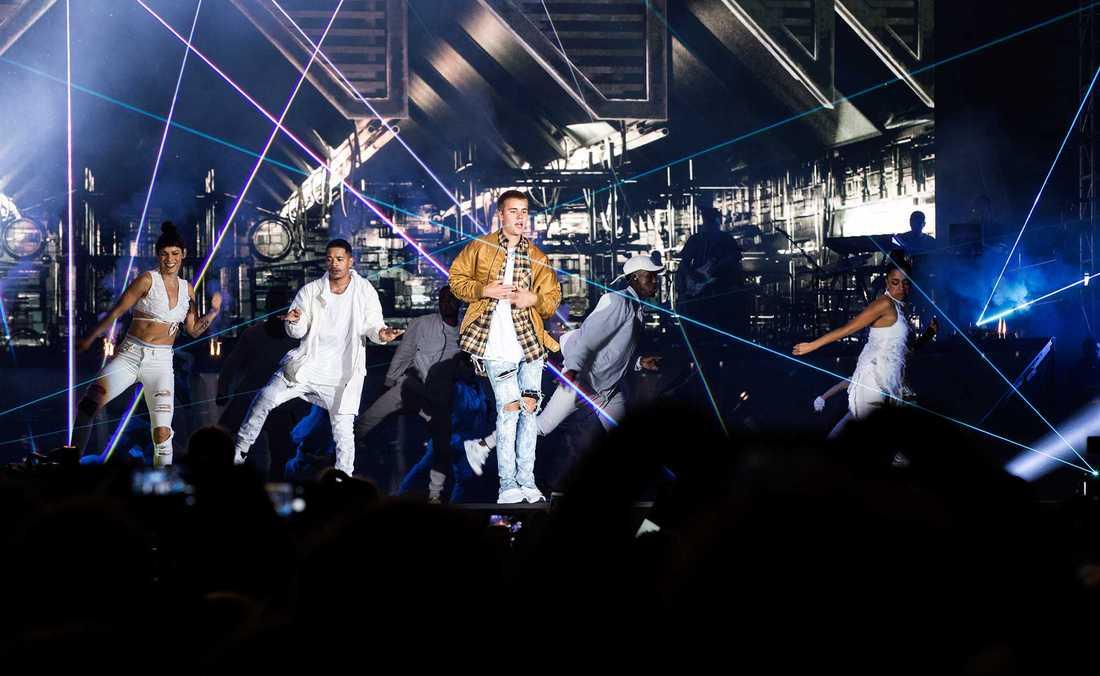 Justin Bieber i Reykjavik.