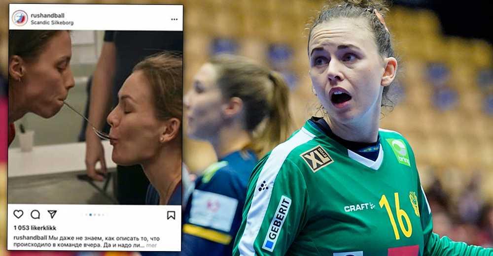 Jessica Ryde, med flera, reagerar på den ryska hotelleken. Instagram-inlägget är nu borttaget.