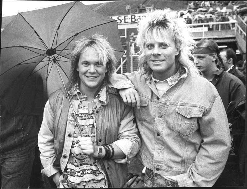 Tommy Ekman och Christer Sandelin - två frisyrer i Style.
