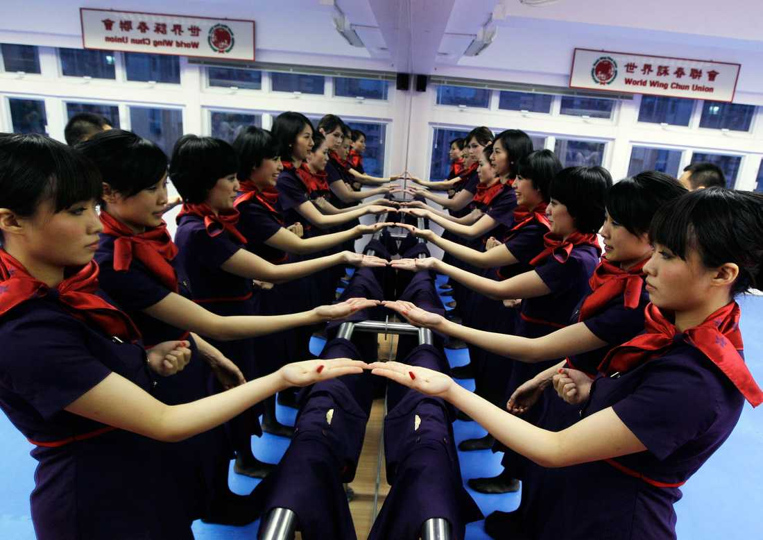 China Eastern Airlines ska nu utbilda totalt 2600 ombordanställda i kampsporten.