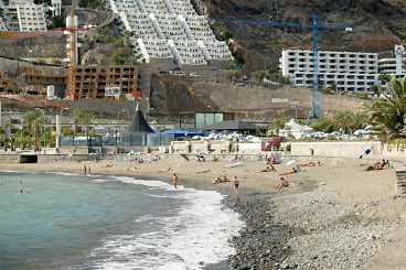 Playa del Cura - stilla semester.