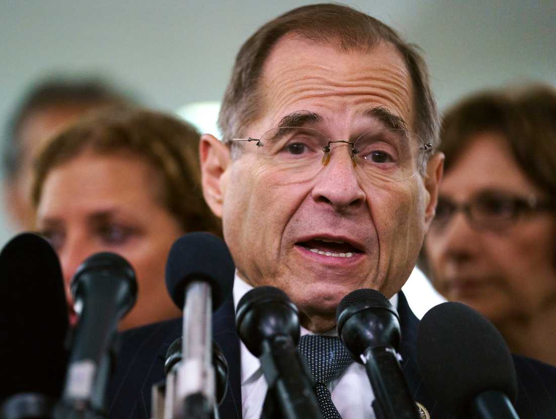 New Yorkdemokraten Jerry Nadler är ordförande i representanthusets justitieutskott.