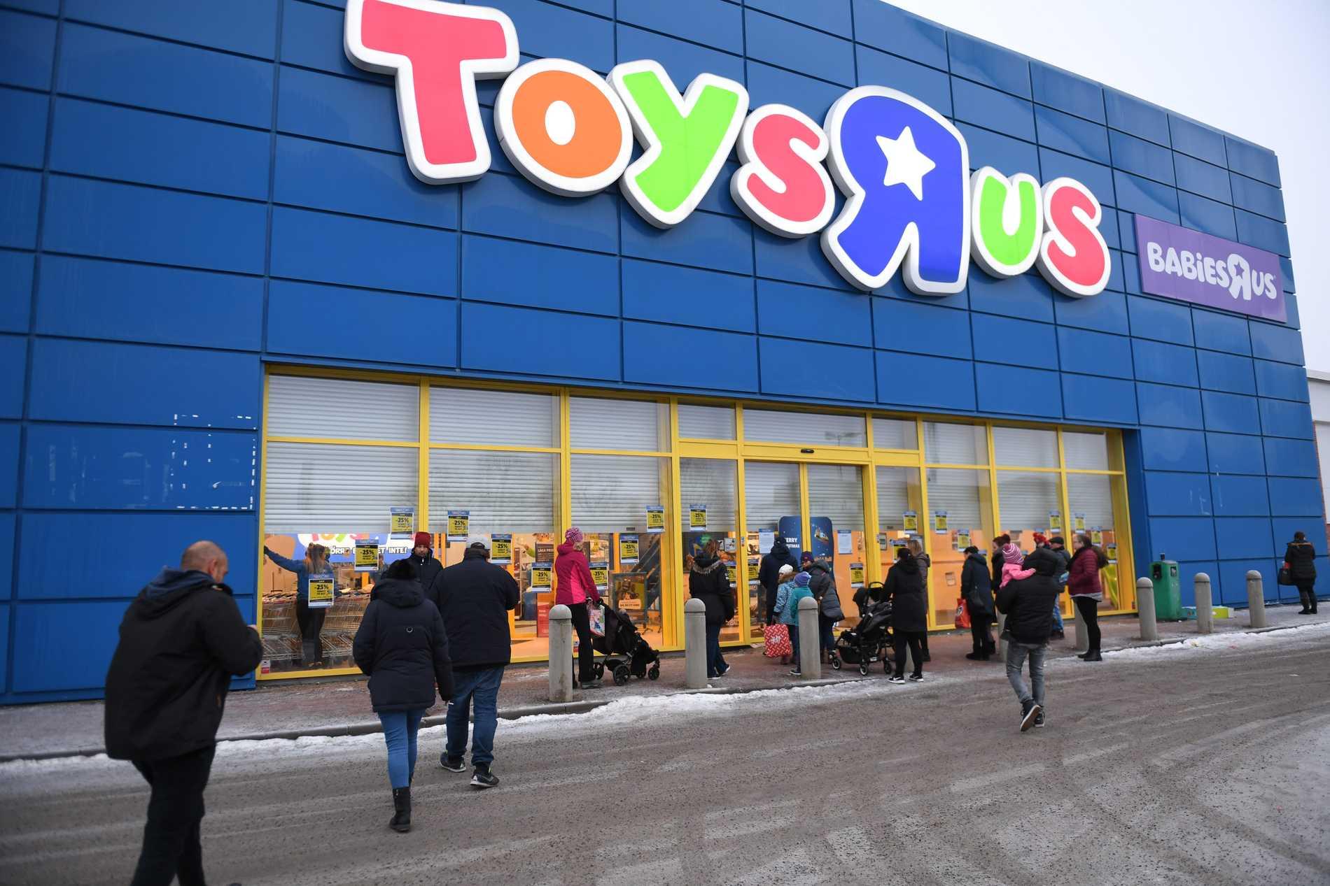 """Toys """"R"""" Us är bara en i raden leksaksbutiker som försvunnit genom åren."""